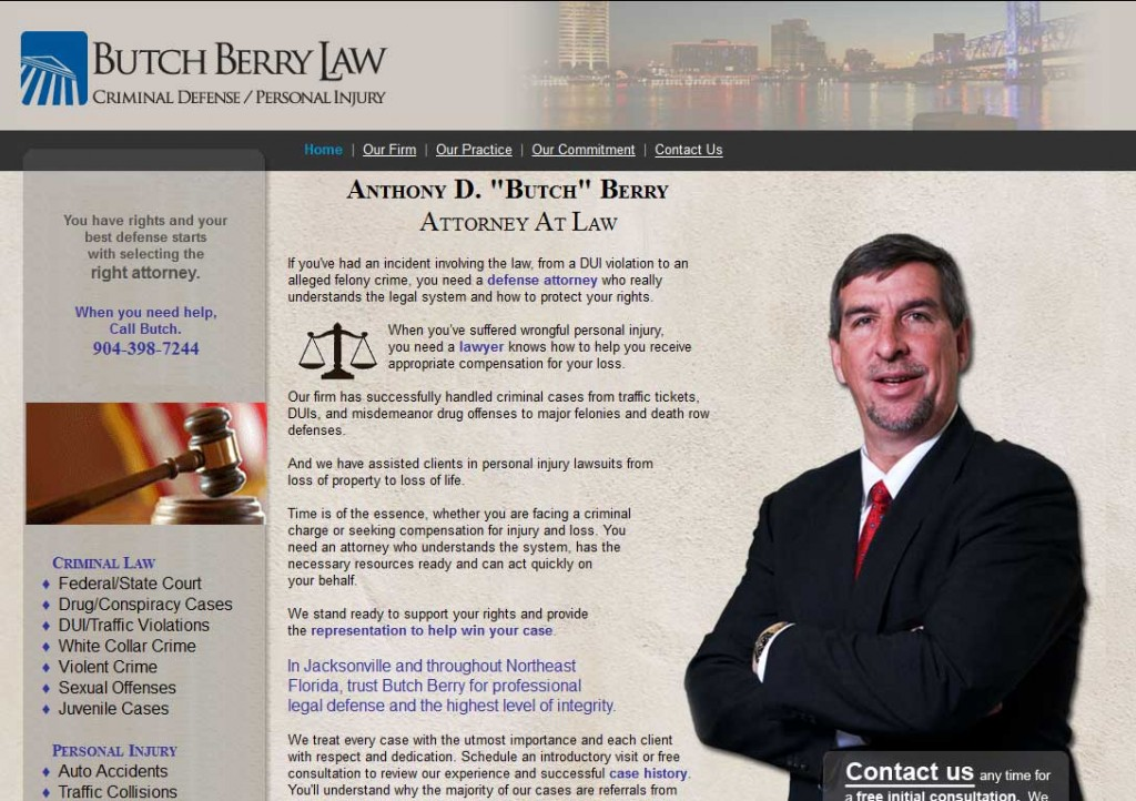 PTC-Clients-Screenshots-Butch Berry, Attorney at Law