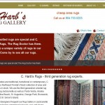 PTC-Clients-Screenshots-C. Harbs Rugs including Area, Oriental, Persian, Manufactured, Hand-knotted, Antique, and more