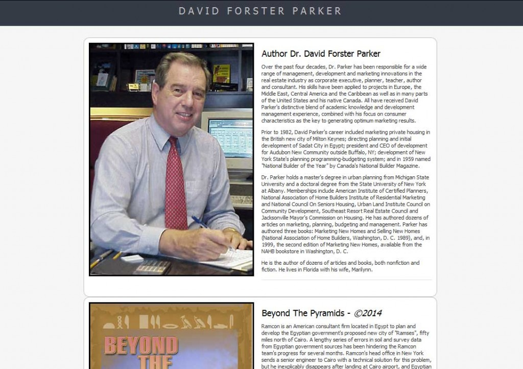 PTC-Clients-Screenshots-Dr. David F. Parker, author