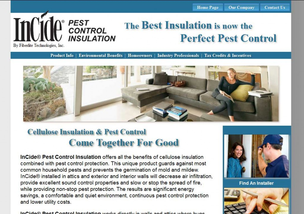 PTC-Clients-Screenshots-Incide Pretreated Pest Control Cellulose Insulation Manufacturer