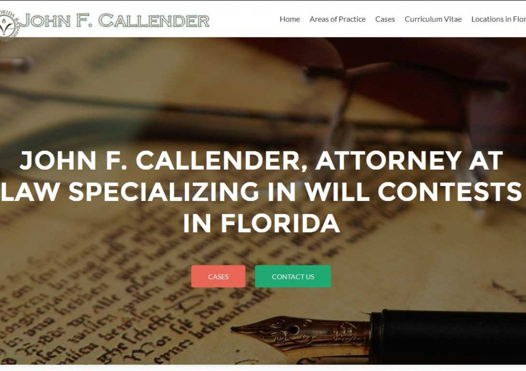 PTC-Clients-Screenshots-John F. Callender, attorney at law in Jacksonville & Sarasota, Florida